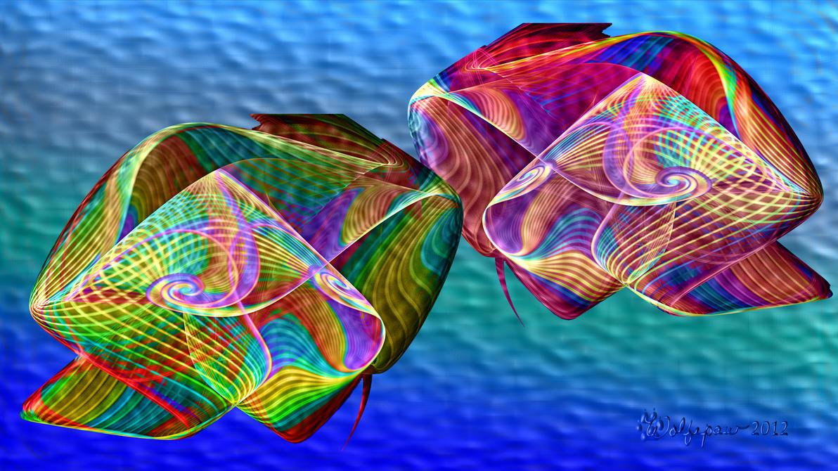 Cuddling Cuttlefish by wolfepaw