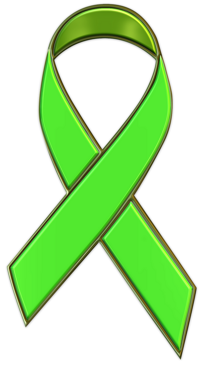Lime Green Ribbon For Gary By Wolfepaw