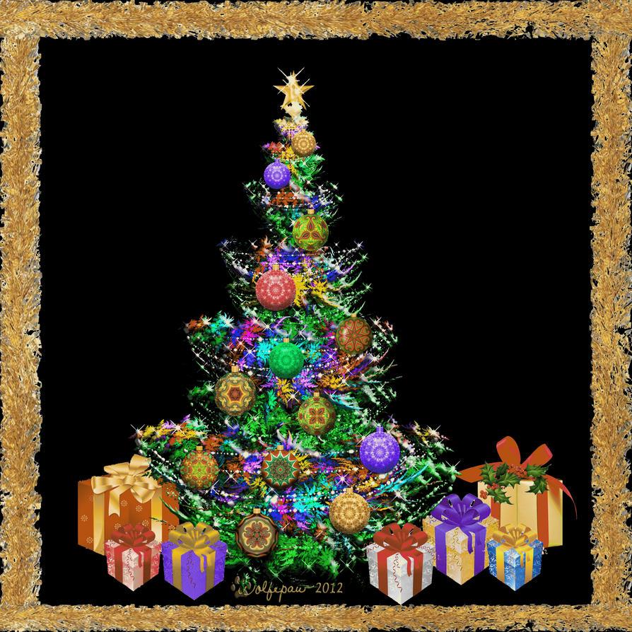 Animated christmas tree by wolfepaw on deviantart