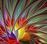 Fractal Bird of Paradise 2