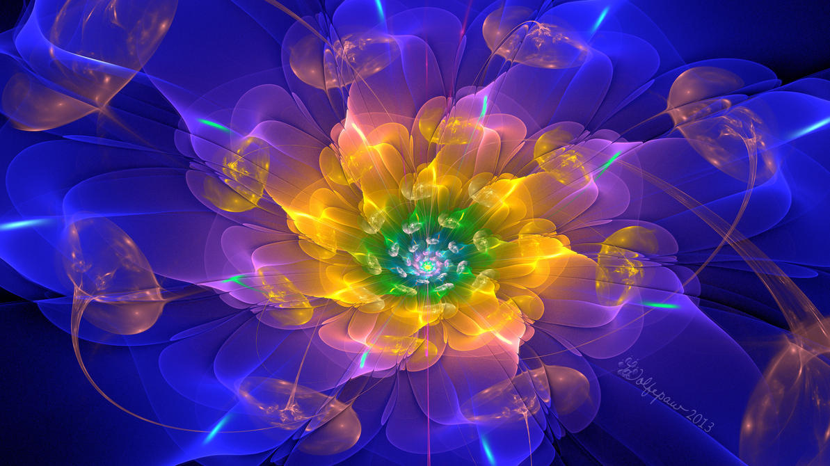 Flower Lights by wolfepaw