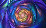 Fractal Satin Spiral