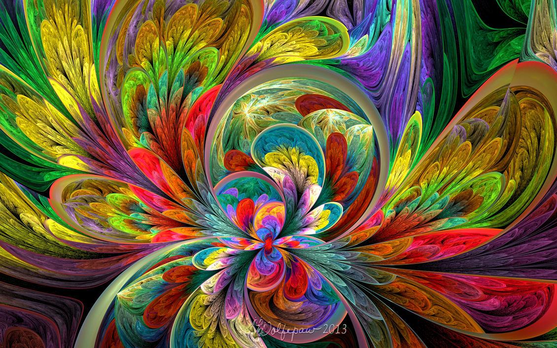 Light Swirls by wolfepaw