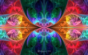 E-Splits Spherical Rainbow by wolfepaw
