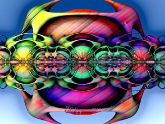 Disco Ball Deco Cube by wolfepaw