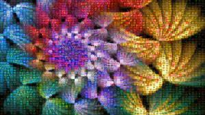 Spiral Swirls Mosaic