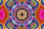 Rainbow Minibrot Kaleidoscope