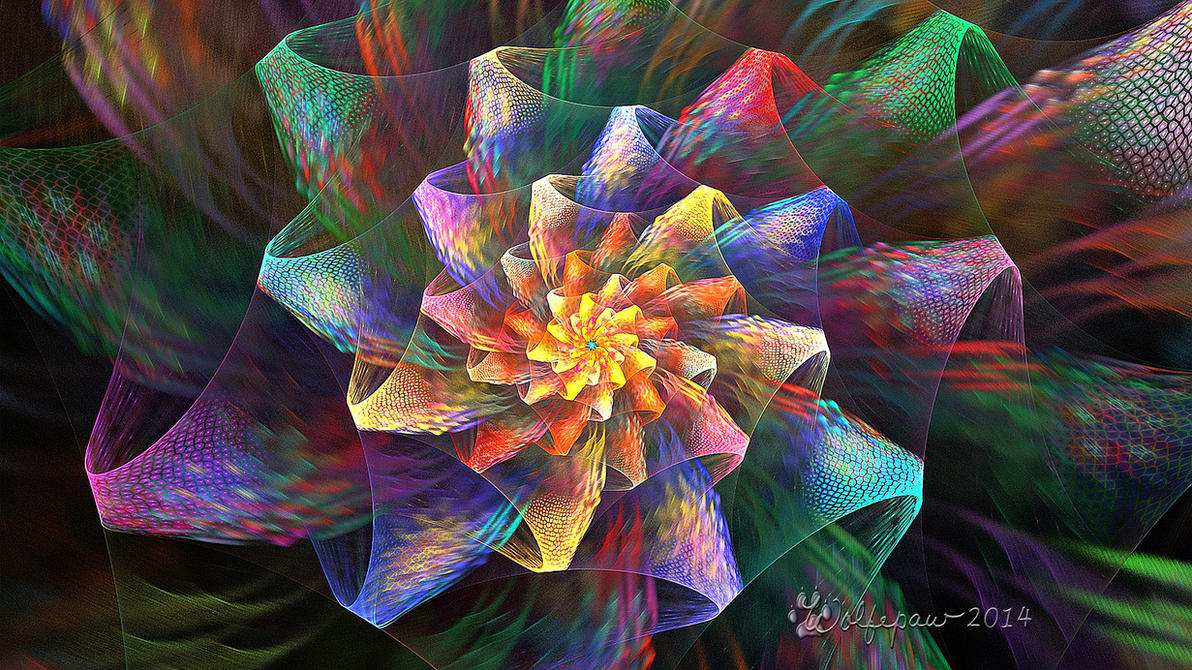 Spherical Crackle Bloom by wolfepaw