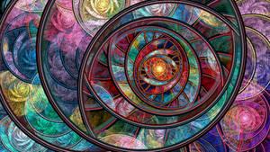 Swirling Rings