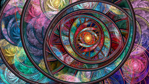 Swirling Rings by wolfepaw