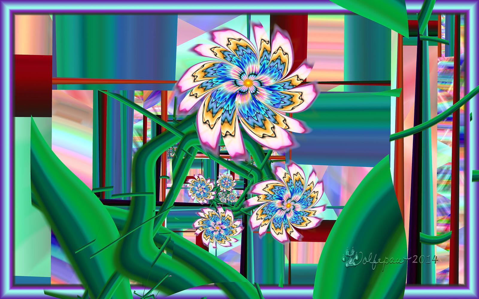 Barnsley Flowers By Wolfepaw On DeviantArt