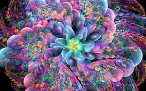 Candy Flower by wolfepaw