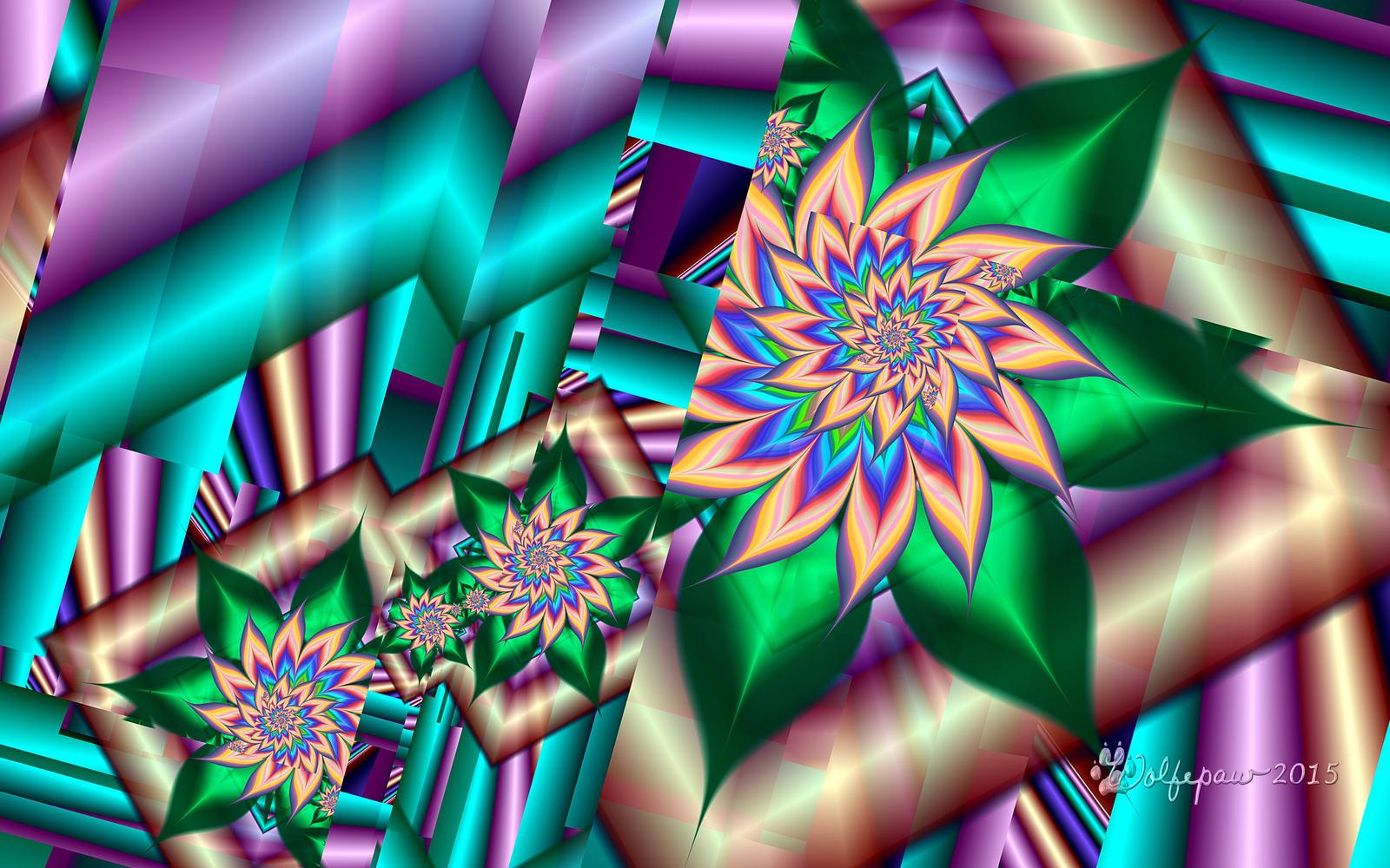 Barnsley Framed Flowers By Wolfepaw On DeviantArt