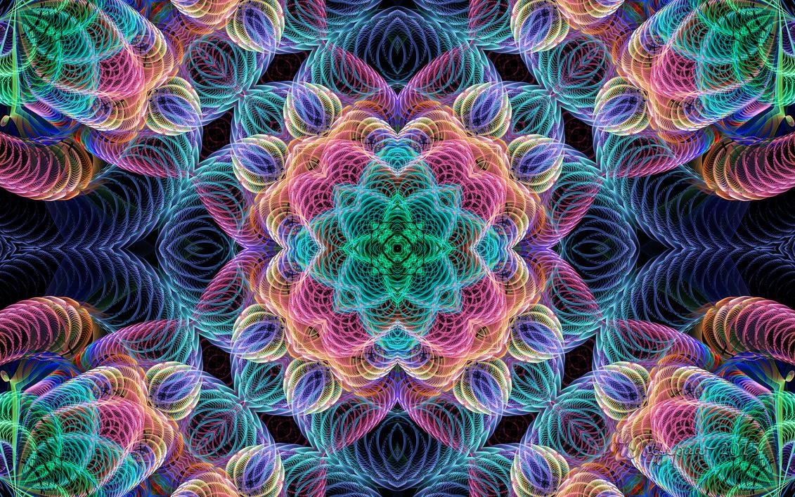 ESplits String Kaleidoscope by wolfepaw