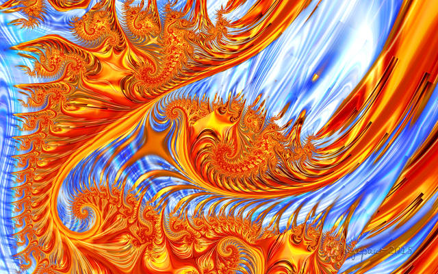 Fractal Fire and Ice