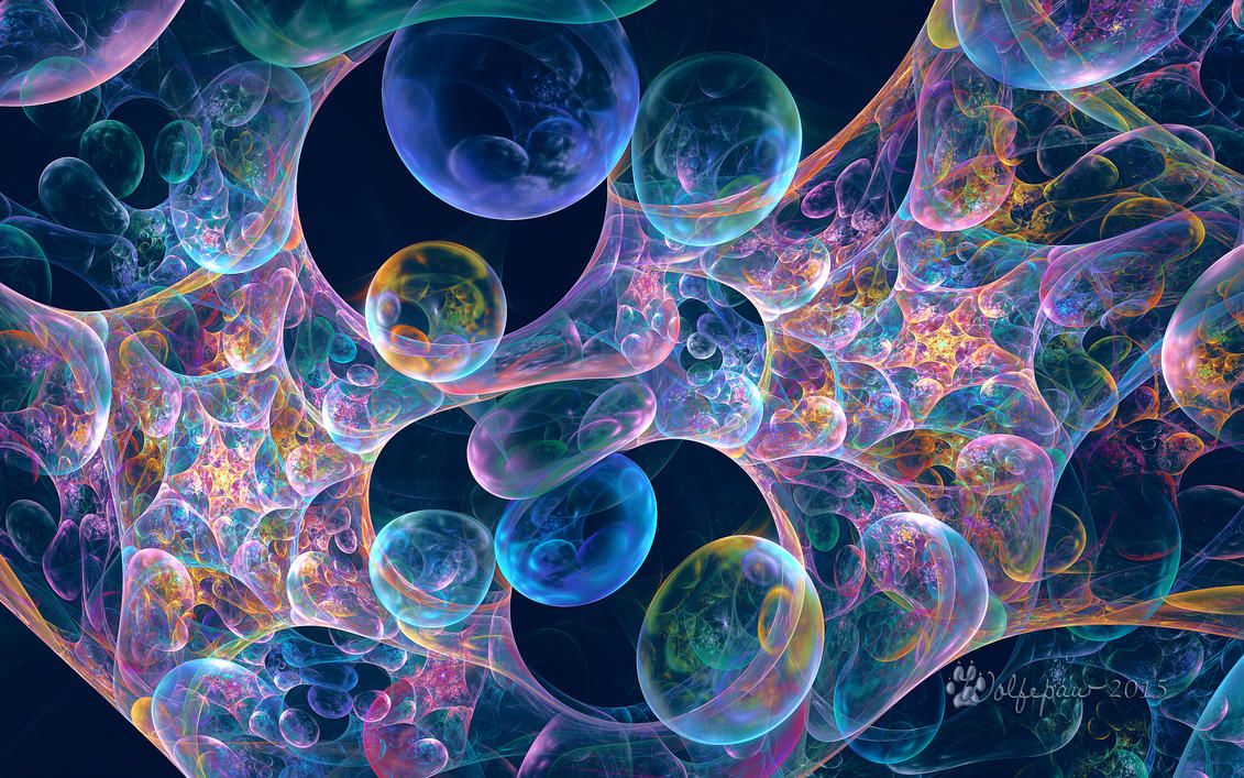 Iridescent Bubbles by wolfepaw on DeviantArt