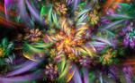 Plastic Flower Spiral