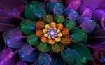 Rainbow Bubble Flower