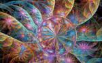 Rainbow Loonie Spirals