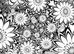 Compounding Flowers - Coloring Book Style