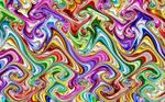 Rainbow Swirl Gnarls