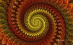 Copper Disc3D Spiral
