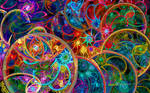 Spirals and Rings and Bubbles