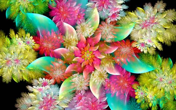 d-Spherical Flower
