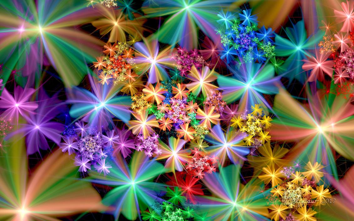 Sparkly Spiral by wolfepaw