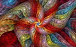 Textured Color Spiral