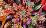 Super Linear3D Butterfly Spiral