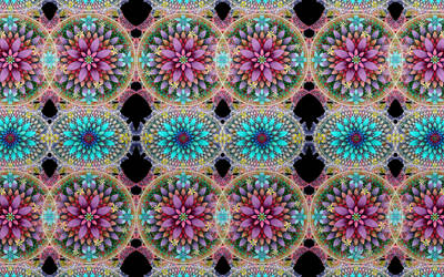 Cross Crop Flowers by wolfepaw