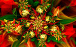 Auger Christmas Flower by wolfepaw
