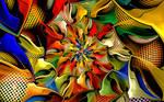 Nettting Spiral by wolfepaw