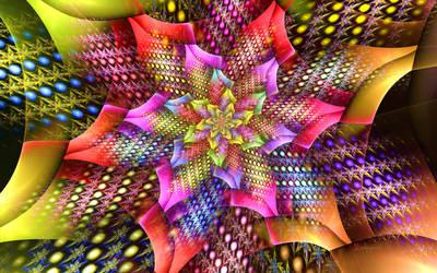 Log Tile Pinwheel