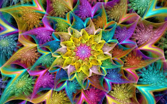 Pastel Cleavage Flower