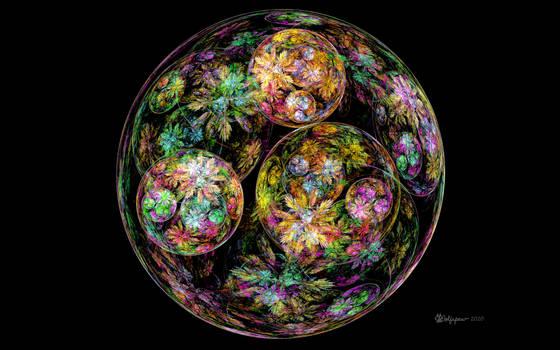 Floral Bubble Orb