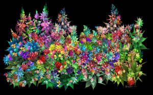 Wedge Flower Garden