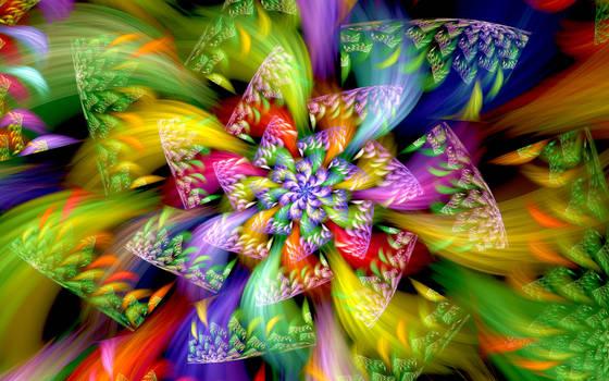 Color Wheel Spiral