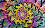 Rainbow Sun Spiral