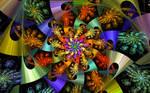 Epispiral Atan2-Spirals Spiral by wolfepaw