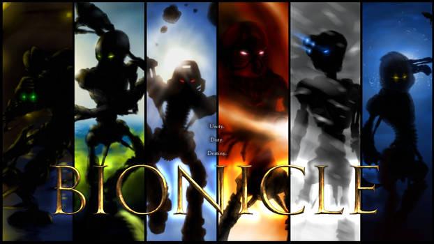 Bionicle 2001 Wallpaper V2
