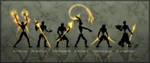 DNovel Concept - The Six Arch-Viles