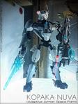 Kopaka Nuva (Adaptive Armor: Space Form) MOC