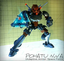 Pohatu Nuva (Adaptive Armor: Space Form) MOC by Llortor