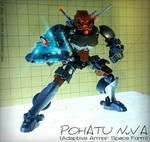 Pohatu Nuva (Adaptive Armor: Space Form) MOC