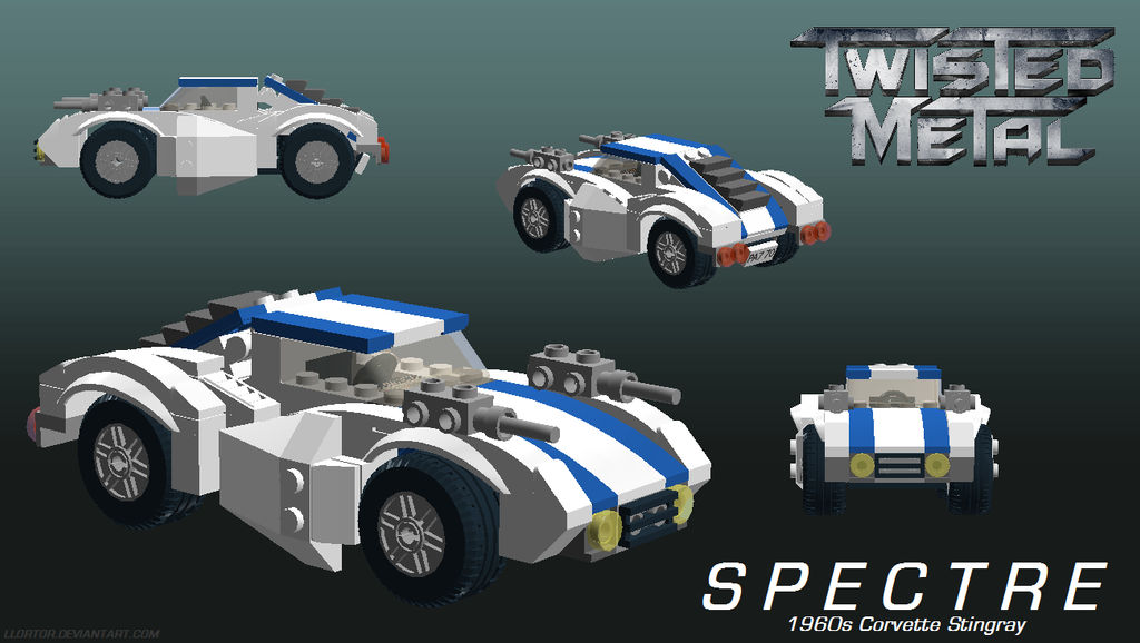 LDD) Lego Twisted Metal: Spectre by Llortor on DeviantArt