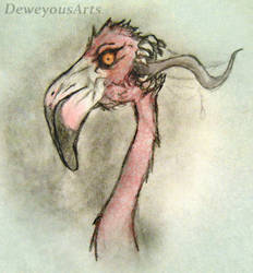 Demon in Pink: Coloured