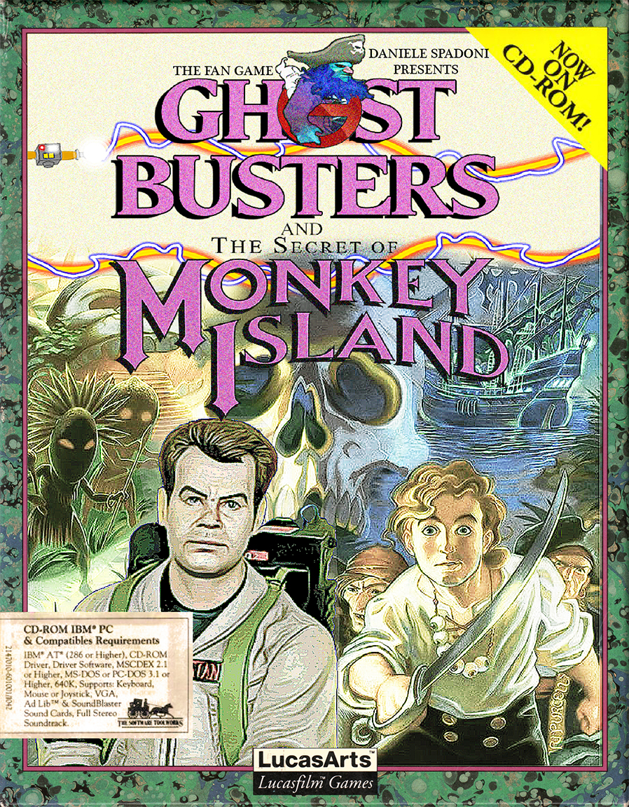 TFG - Ghostbusters and the Secret of Monkey Island