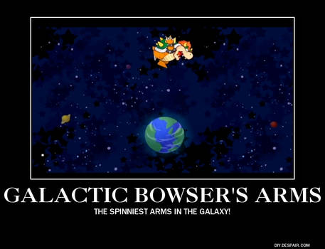 Galactic Bowser's arms